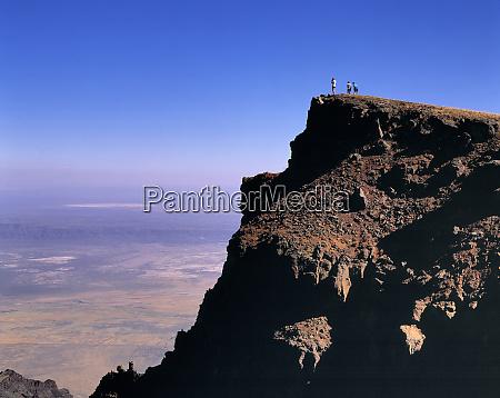 usa oregon steens mountain hikers enjoy