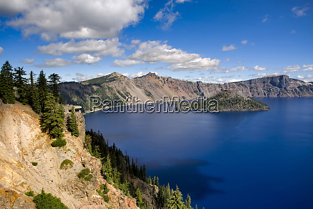 usa oregon crater lake np sinnott