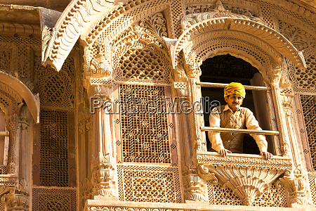 architectural detail mehrangarh fort 10th century