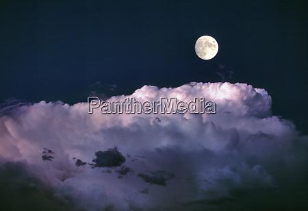 usa oregon bend a full moon