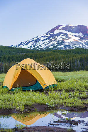 camping tent south sister elevation 10