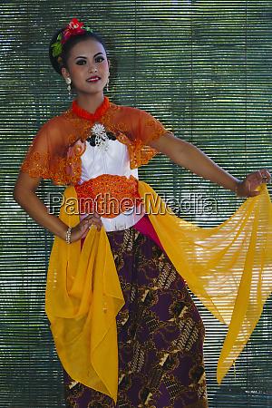 indonesian dancer yogyakarta java indonesia large