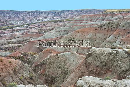 usa south dakota wall scenic landscape