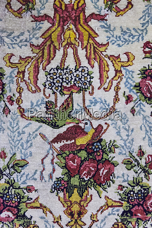 iran tehran laleh park carpet museum