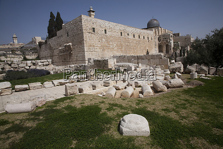 jerusalem archaeological park within the walled