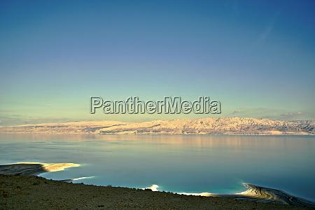 israel dead sea along the israeli