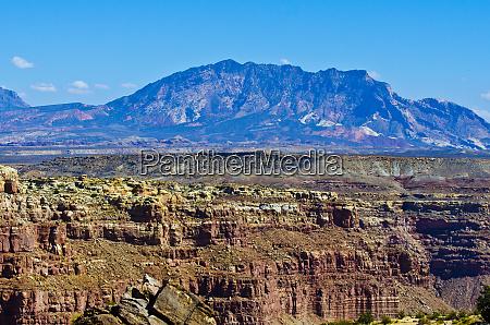 usa utah henry mountains glen canyon