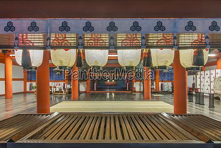japan miyajima itsukushima shrine itsukushima shrine