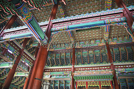 seoul south korea geunjeongjeon interior of