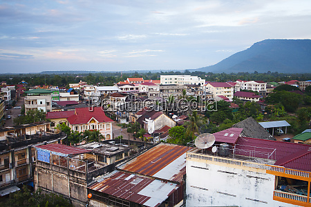 rooftop views over laos city