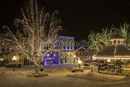 usa washington leavenworth christmas lights