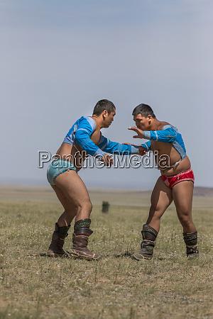 wrestling competition naadam festival gobi desert
