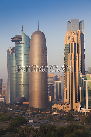 qatar doha doha bay west bay