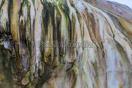 travertine patterns at cupid spring in