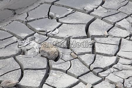 wy yellowstone national park mud volcano