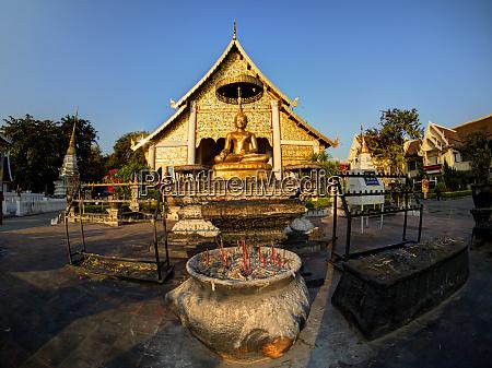 thailand chiang mai wat prasingh is