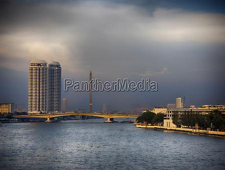 thailand bangkok chao phraya river through