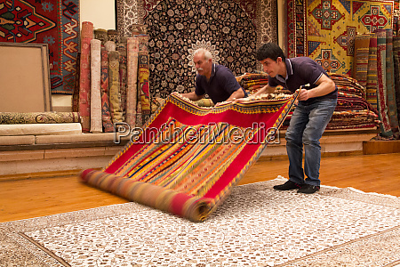 turkey cappadocia nevsehir urgup carpet store