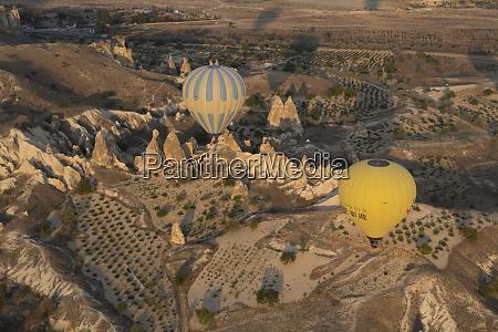 turkey cappadocia hot air ballooning in