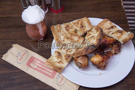 turkey istanbul outdoor restaurant typical turkish