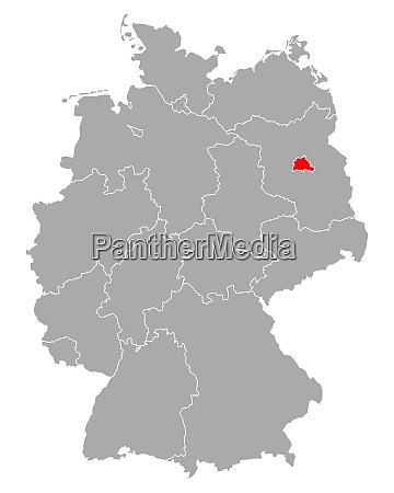 map of berlin in germany