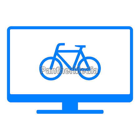 bicycle and screen