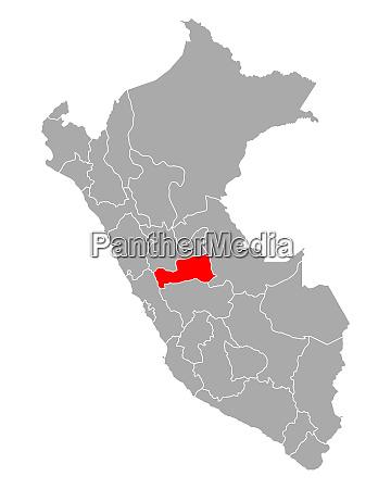 map of pasco in peru