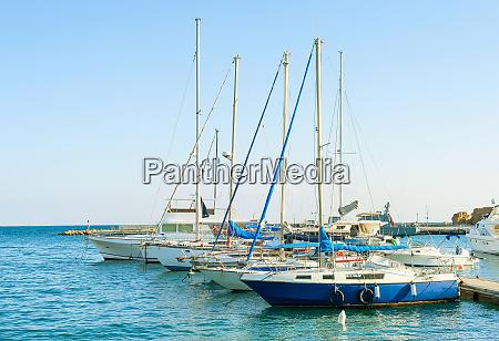yachts motor boats marina cyprus