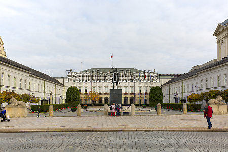 presidential palace neoclassical monumental edifice on