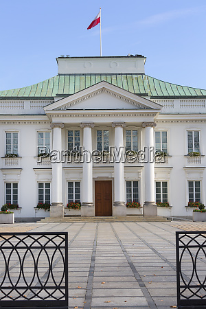 belvedere palace neoclassical building situated near