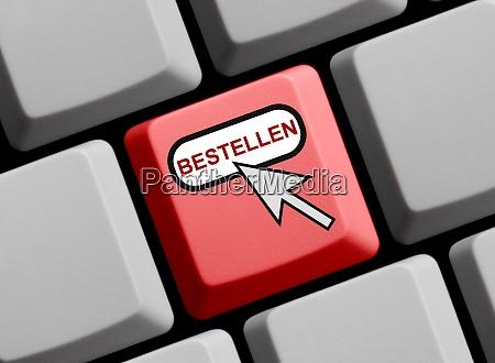 red computer keyboard order in german