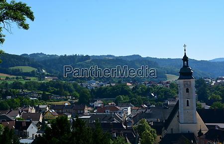 cityview over grein