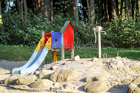 view of a playground for children