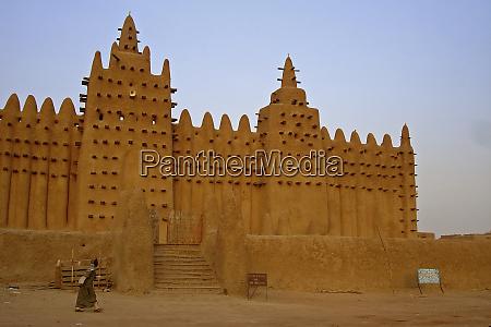mali djenne the mud brick mosque