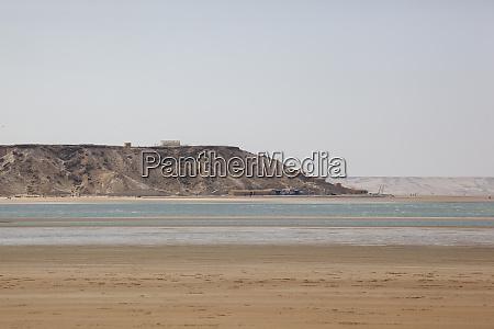 africa western sahara dakhla salt water