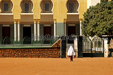 niger niamey mosque in an african