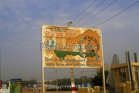 niger niamey old and used advertising
