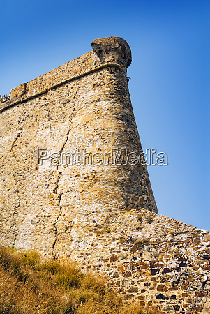 genoese castle tabarka tunisia north africa
