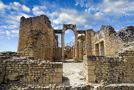 the capitol dougga archaeological site unesco
