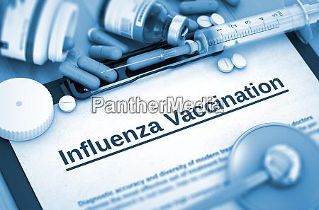 influenza vaccination diagnosis medical concept composition