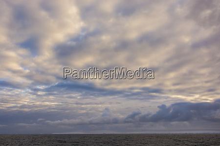 antarctica cloudy skies