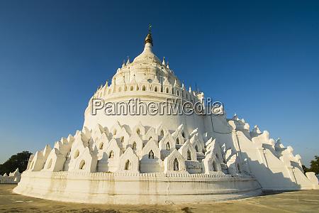 myanmar mandalay mingun hsinphyumae pagoda