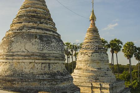 myanmar bagan minochantha stupa group and