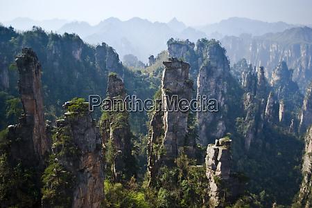 asia china hunan province zhangjiajie national