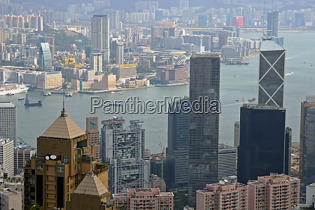 asia china hong kong cityscape of