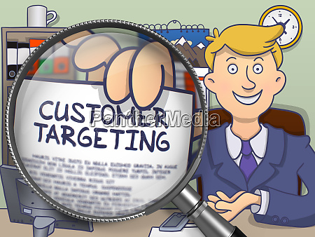 customer targeting through lens doodle style
