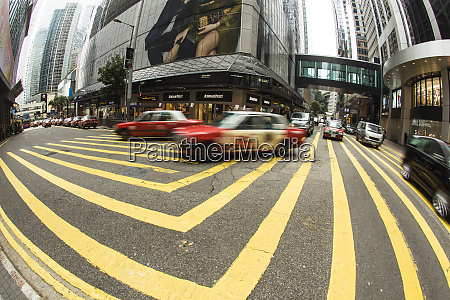 china hong kong traffic circle in