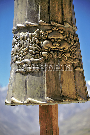 asia india ladakh karsha a close