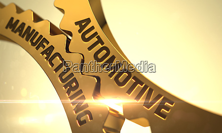 golden cog gears with automotive manufacturing