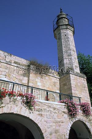asia israel jerusalem ein kerem mosque